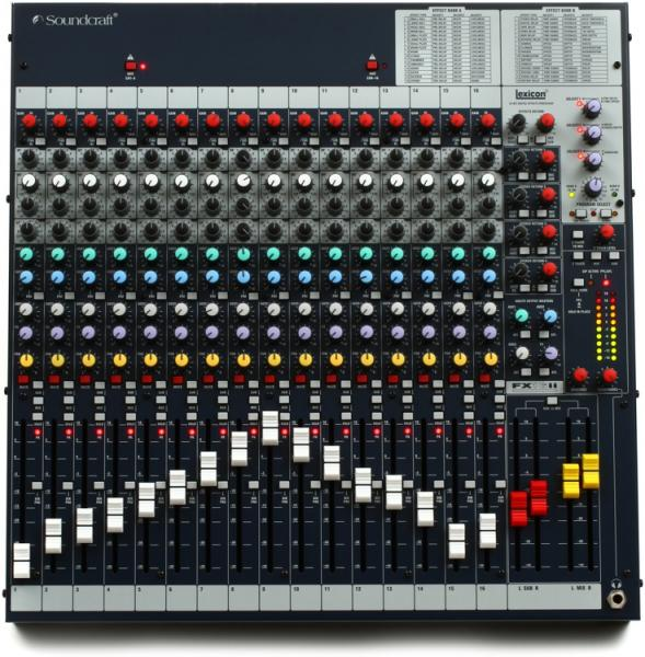 Soundcraft FX 16 II (mark 2)