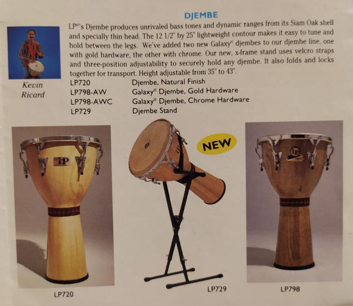 Djembe LP 798-AWC /Galaxy M.Cohen series/