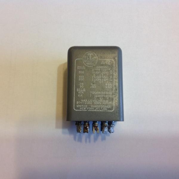 Original LA2A INPUT TRANSFORMERS