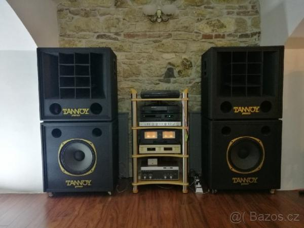 Tannoy 2x Panther a 2x Leopard