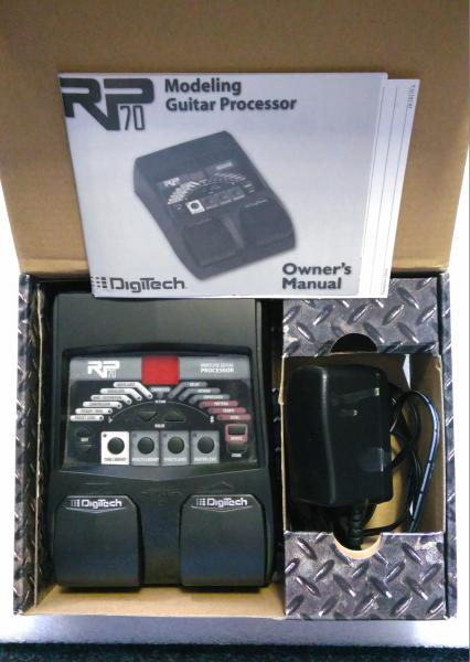 Digiech RP 70 Modeling Guitar procesor with audio DNA2 DSP