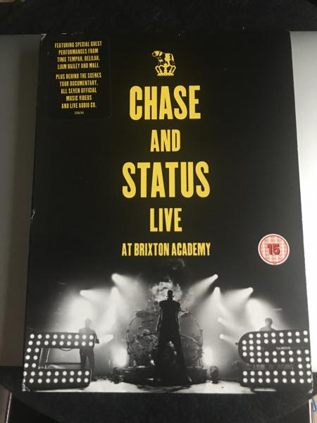 Chase and Status Live At Brixton Academy CD+DVD