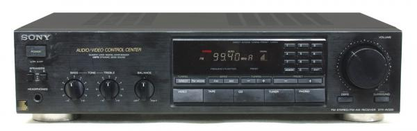 AM / FM RDS receiver SONY 2x 60 W