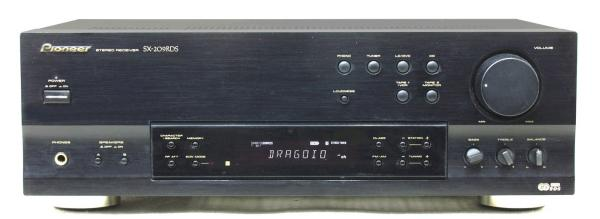 RDS /EON receiver PIONEER 2x 80 W