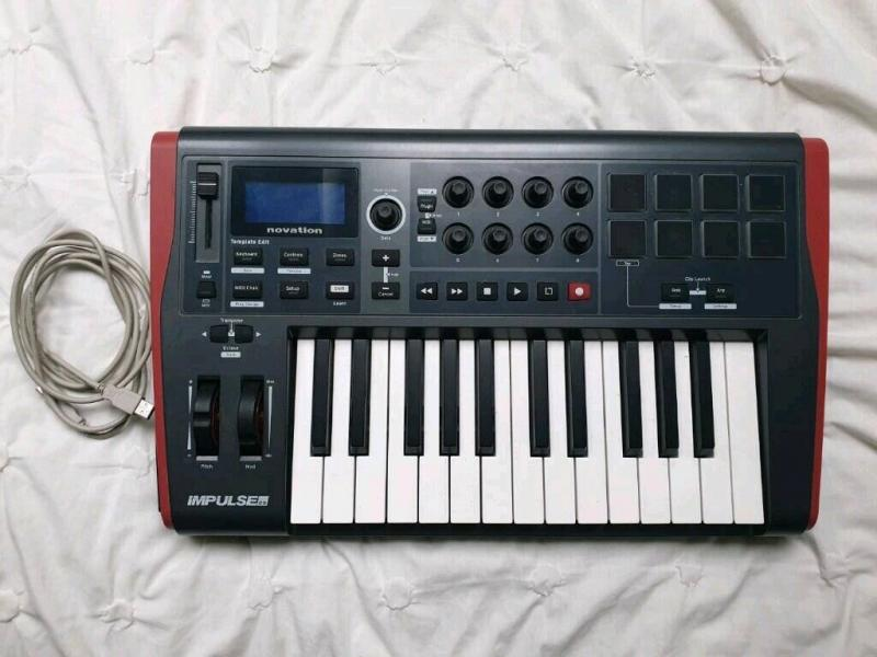 Prodám Novation Impulse 25