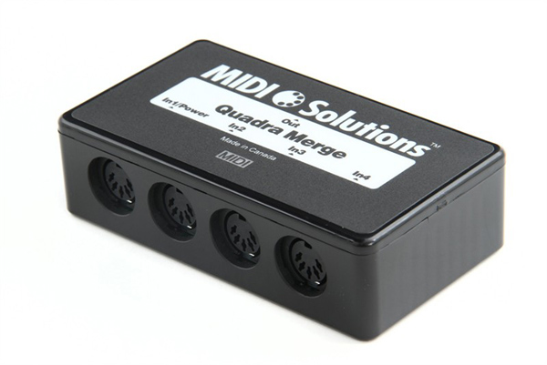 Midi Solution - Quadra merge a thru