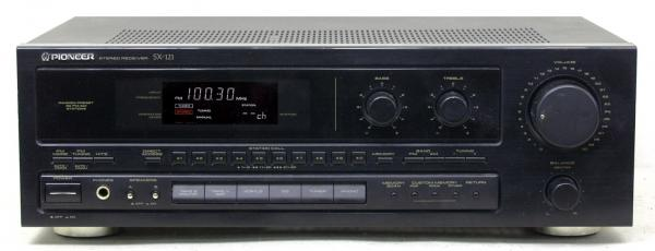 AM / FM receiver PIONEER 2x 75 W