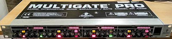 Behringer XR-4400 Multigate Pro 4-channel Expander/Gate