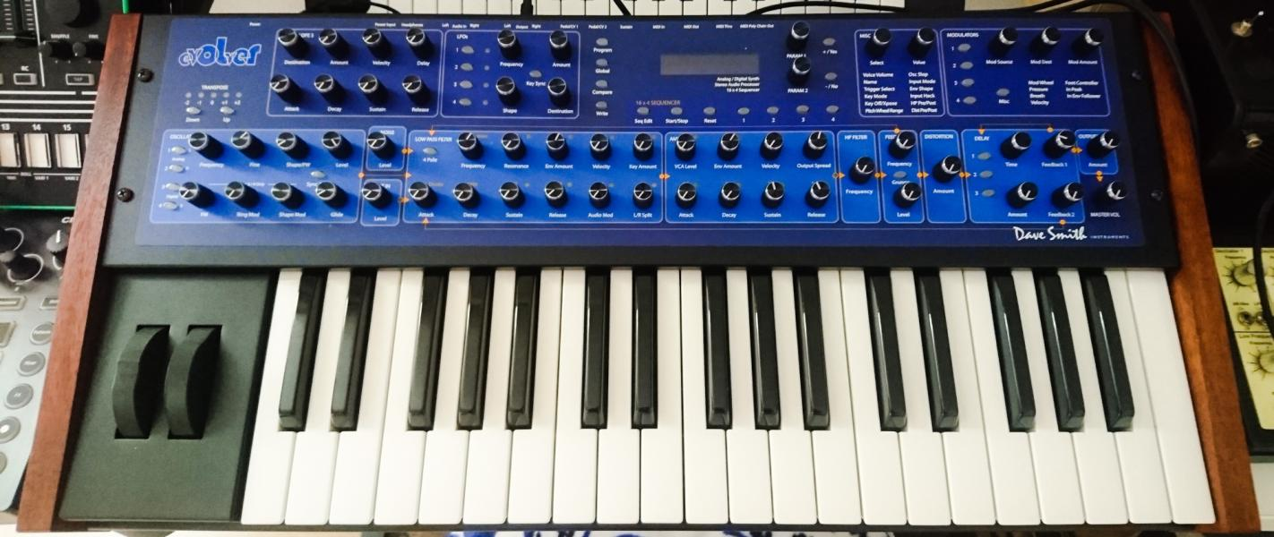 Dave Smith Mono Evolver Keyboard (ZĽAVA do 18.1. + dovoz do PRAHY)