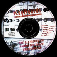 Originál THE ELEMENTZ OF PHUNK.EEE NOIZE sampling CD