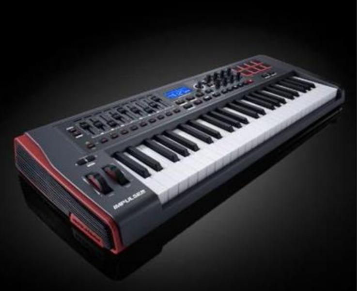 Novation IMPULSE 49 MIDI keyboard jako novy