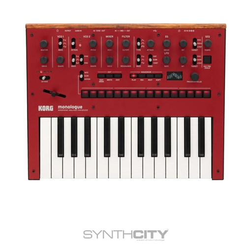 Korg Monologue Red synth
