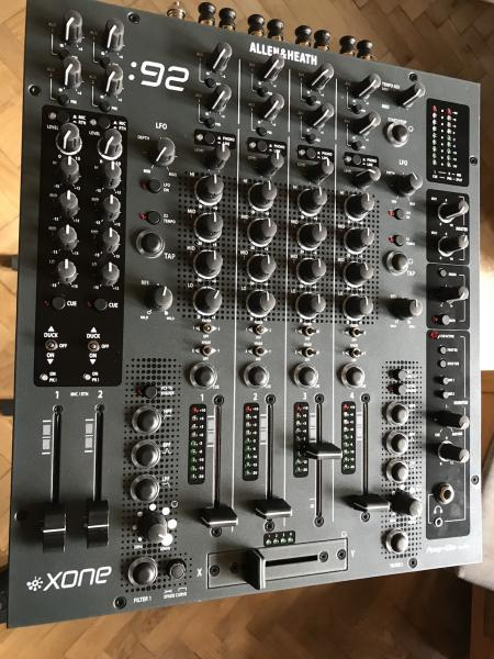 Prodám analog dj mix ALLEN HEATH XONE 92