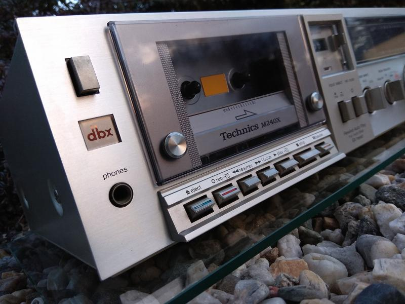 Kazeťák (Tape Deck) TECHNICS RS-M240X - Made in Japan - 1981