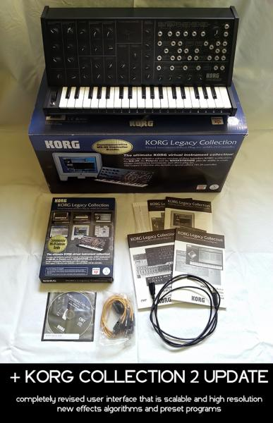 KORG Collection 2 + MS-20 Controller