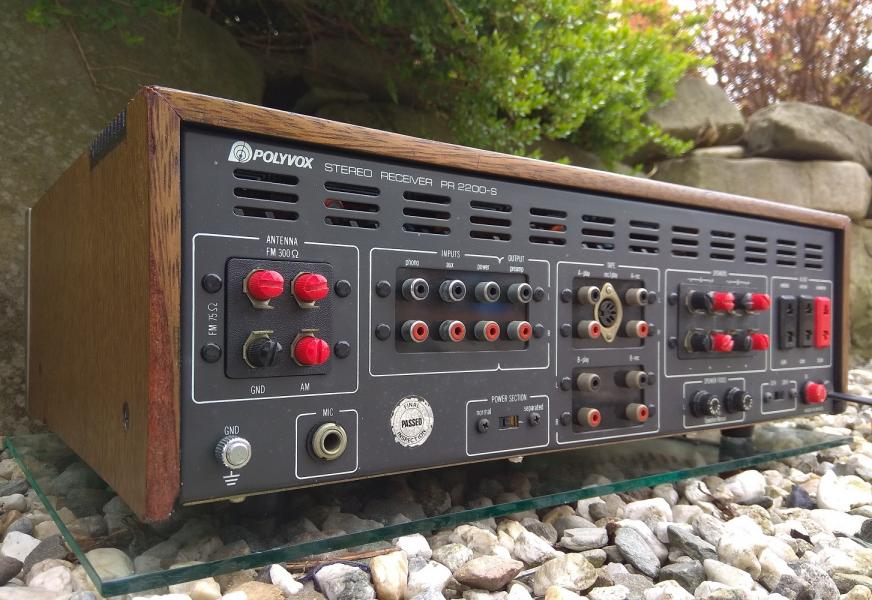 Stereo receiver POLYVOX PR-2200S - Made in Brazil - 1979
