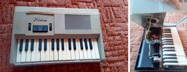 Vintage synth PILLE (Made in USSR)