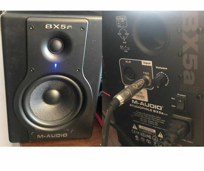 M-Audio BX5a deluxe - studiové monitory