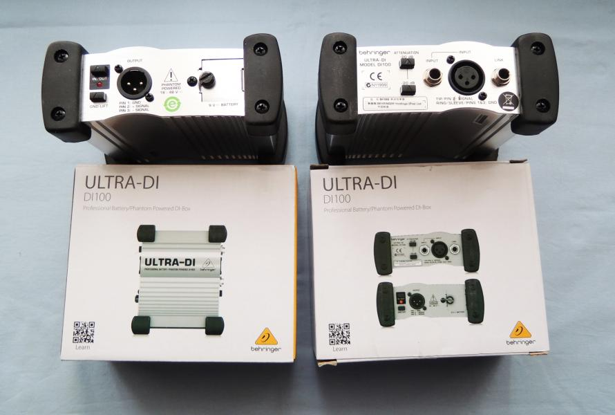 Direct box Behringer DI 100