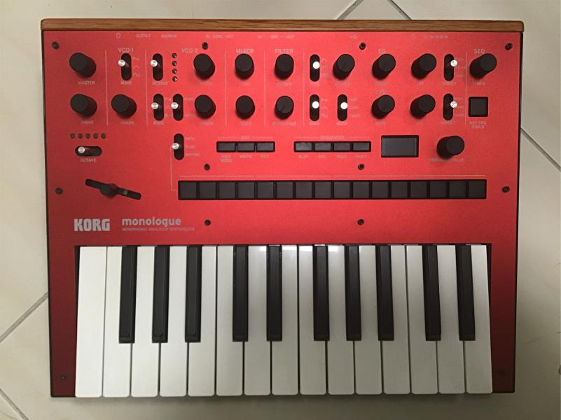 Korg Monologue Red - B-Stock