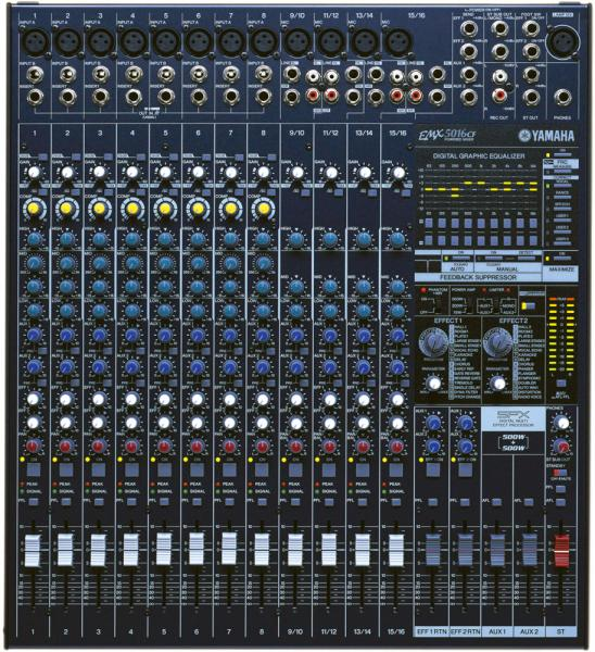 Power mix - Yamaha EMX 5016 CF