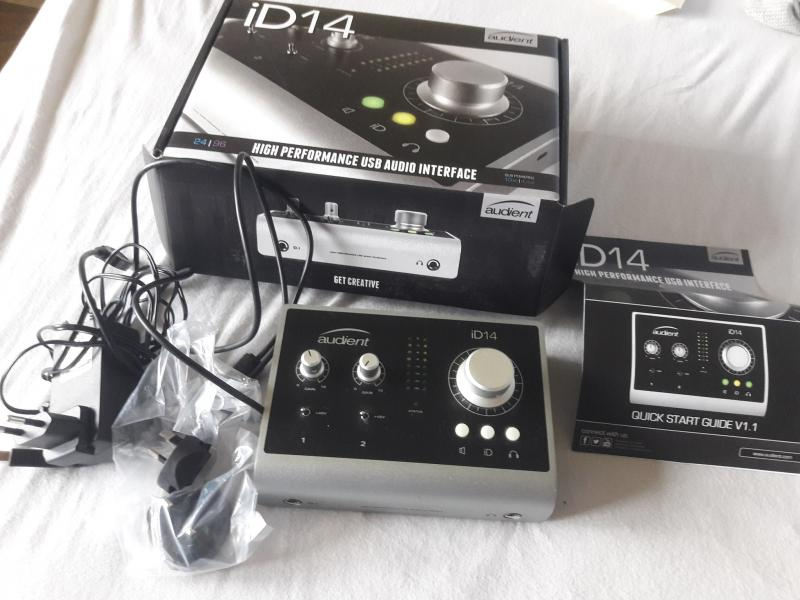 Audient ID 14 USB Interface