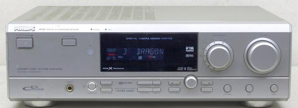 Digital Surround RDS receiver PHILIPS 5x 85 W