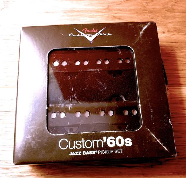 FENDER CUSTOM SHOP CUSTOM '60S JAZZ BASS PICKUPS-NEROZBALEBO.