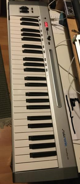 Midi controller keyboard Swissonic Easy Key 49