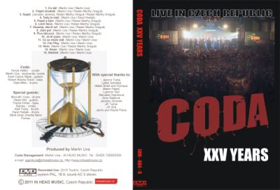 DVD CODA XXV YEARS